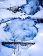frozen waterfall - 196380120