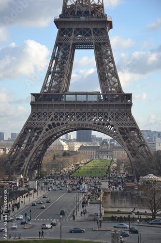 L'échelle de la Tour Eiffel Poster