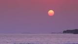 View at sunset on maldivian island - 196384505