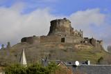 Château de Murol sur les toits