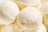 Vanilla Ice Cream Scoops