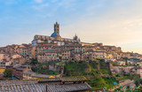 Siena (Italy) - The wonderful historic center of the famous city in Tuscany region, central italy, declared by UNESCO a World Heritage Site.