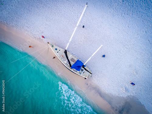 Fotobehang Schipbreuk Destin Florida Shipwreck