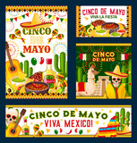 Cinco de Mayo mexican fiesta party poster design