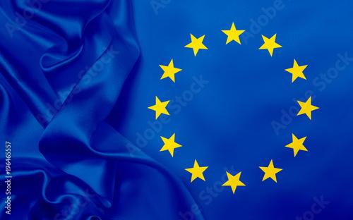Foto Murales European Union flag