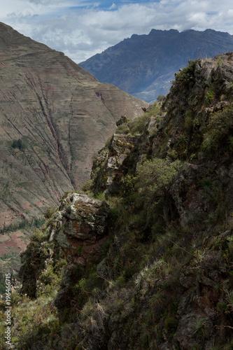 Papiers peints Gris traffic Parque Arqueologico Písac. Peru Inca culture