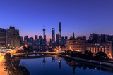 Shanghai skyline and cityscape - 196470593