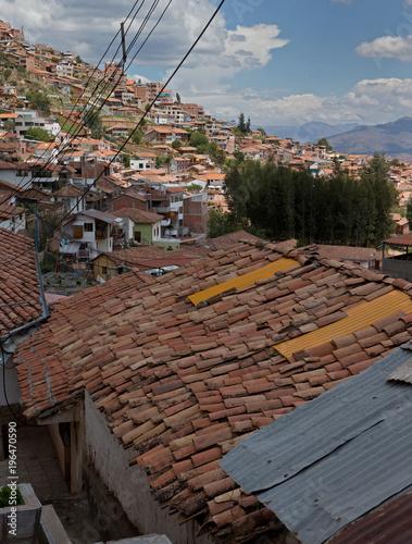 Fototapeta City of Cusco Peru