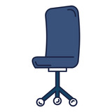 office chair isolated icon vector illustration design - 196483186