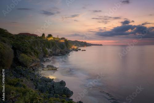 Staande foto Zee zonsondergang Sunset on the Bali island.