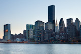 Skyline of midtown, Manhattan, New York City, NY, USA