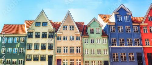 Copenhagen famous coloured houses