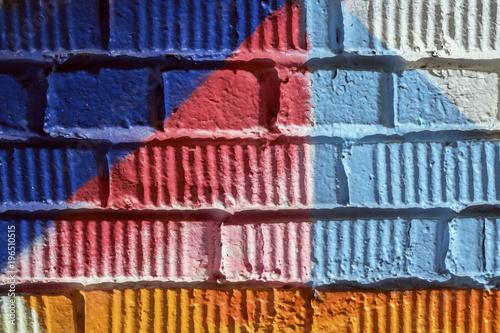 Abstrakcjonistyczny detal Miastowy uliczny sztuka projekta zakończenie. Ściana Graffity. Nowożytna kultowa miastowa kultura, stylishgraphic wzór dla tła