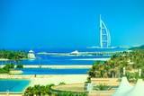 Coastline of Dubai