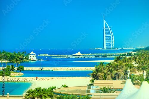 fototapeta na ścianę Coastline of Dubai