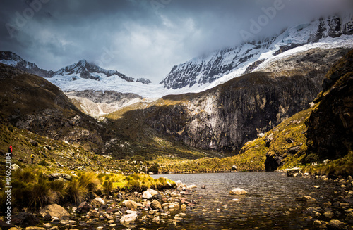 Foto op Canvas Zwart Huascaran National Park