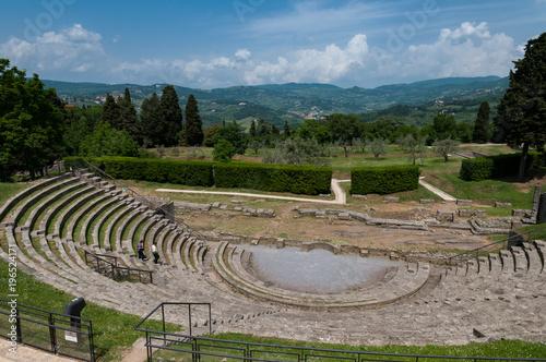 Foto op Aluminium Florence Fiesole, il teatro romano