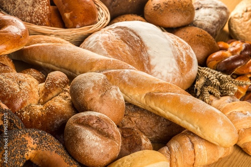 Fototapeta Assorted Breads and Pastries