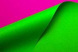 Abstract color paper in geometric shapes - 196531766