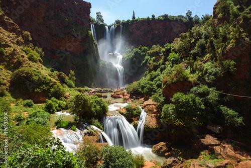 Fotobehang Marokko Ouzoud waterfalls, Morocco