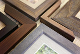 Collection of Solid Wood Picture Frame Samples - 196537154