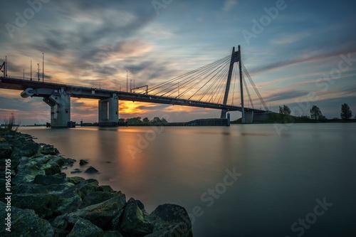 Fototapeta Eilandbrug Kampen