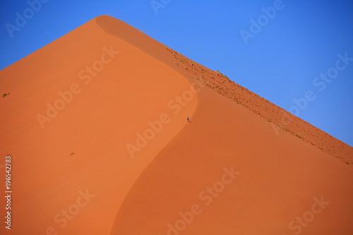 In de dag Oranje eclat Sanddüne