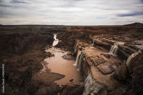Foto op Canvas Chocoladebruin Grand Falls
