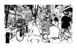San Francisco, historic street and tramway - 196545909