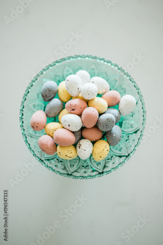 speckled chocolate easter egg candy