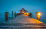 Manteo NC Roanoke Marshes Lighthouse in Outer Banks North Carolina