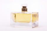 Bottle of perfume isolated on white background - 196567983