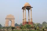 India Gate historical architecture New Delhi India - 196594186