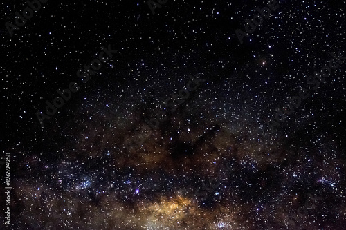 Stars and galaxy outer space sky night universe black starry background