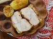 Transcarpathian cold boiled pork