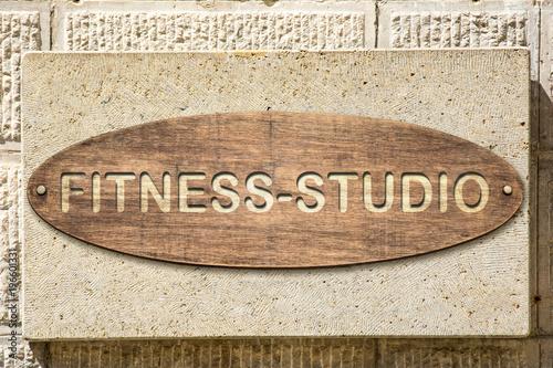 Schild 306 - Fitness-Studio
