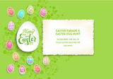 Green Easter poster - 196606118