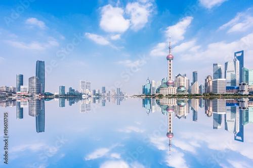 Fotobehang Shanghai cityscape in shanghai