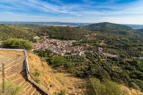 Pomnik Arias Montano znajduje się w miejscowości Alajar, Huelva, Hiszpania