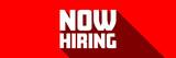 Now hiring - 196612727