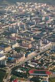 Top view the city of Nizhnevartovsk in spring - 196614929