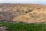 view of judean desert, Israel - 196618349