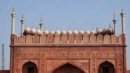 Sticker Jama Mashijd, Moschee in Delhi, Indien
