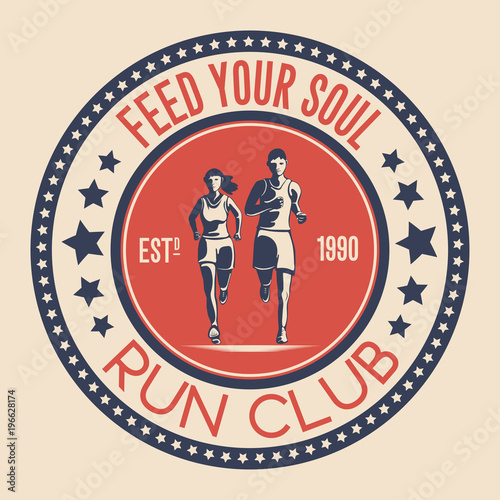 Unique Logo Design For A Running Club A Symbol For A Sports
