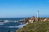 Lighthouse on the Pacific ocean coast - 196638377