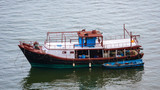 Rusty boat in China - 196654171