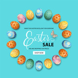 Easter Holiday Background - 196657379