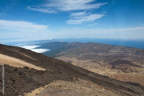 Sticker Droga do Wulkanu Teide, Boca Tauce