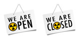 We are open - We are closed / Radioctivity - 196662502