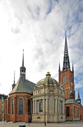 Stockholm Riddarholm Church in Stockholm. Sweden